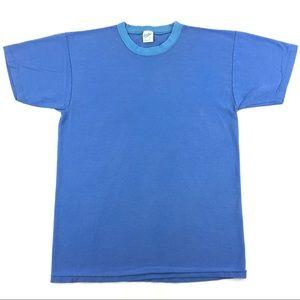 Vintage Velva Sheen Blank Men's T-Shirt Size Large
